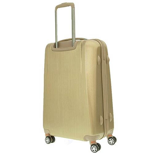 Набор чемоданов March New Carat для путешествий в золотом цвете, фото
