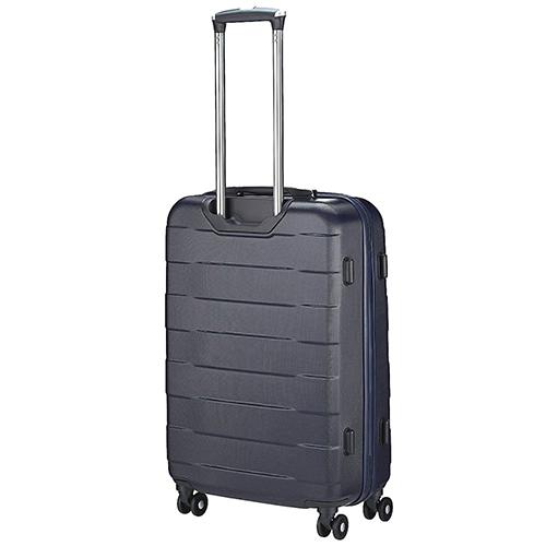 Среднего размера синий чемодан 66x42x26см March Bumper с телескопической ручкой, фото