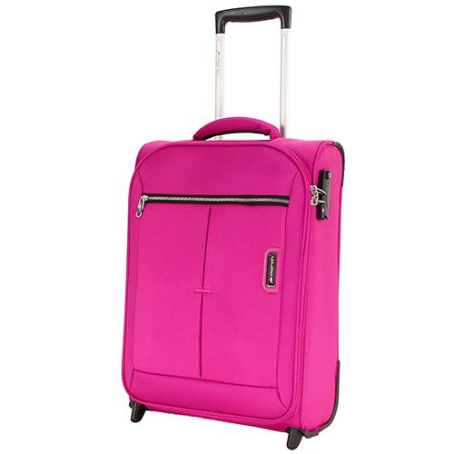 Набор чемоданов цвета фуксия March Quash с телескопической ручкой, фото