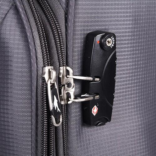 Большой серый чемодан 77х29х47см March Quash с функцией расширения, фото
