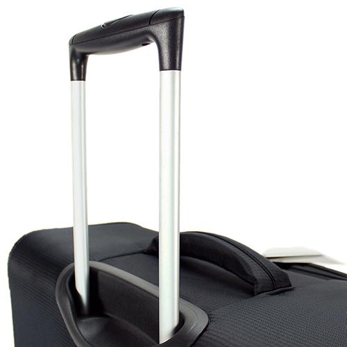 Черный чемодан среднего размера 67x42x26см March Quash с функцией расширения, фото