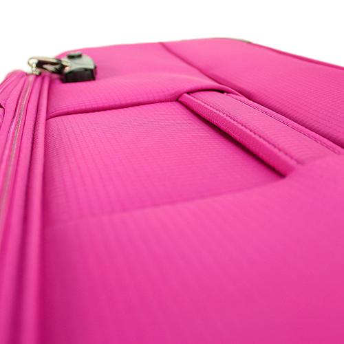Чемодан среднего размера 67x42x26см March Quash с корпусом цвета фуксия, фото
