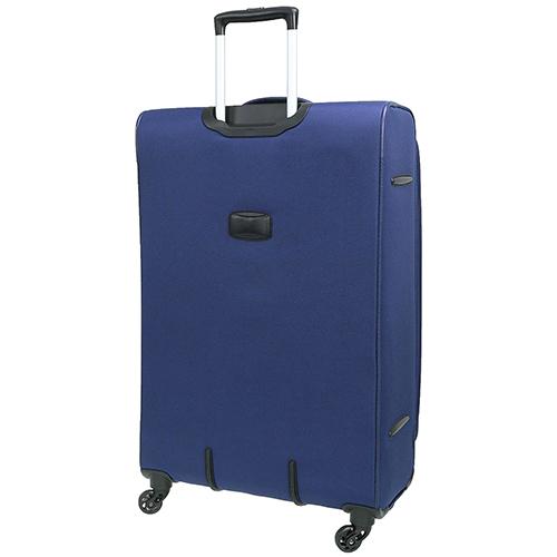 Чемодан синего цвета 67x42x27см March Carter SE среднего размера для путешествий, фото