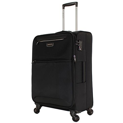 Набор чемоданов черного цвета March Flybird с 4х колесной системой, фото