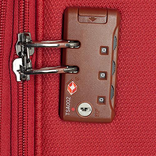 Набор чемоданов March Flybird с корпусом красного цвета из нейлона, фото