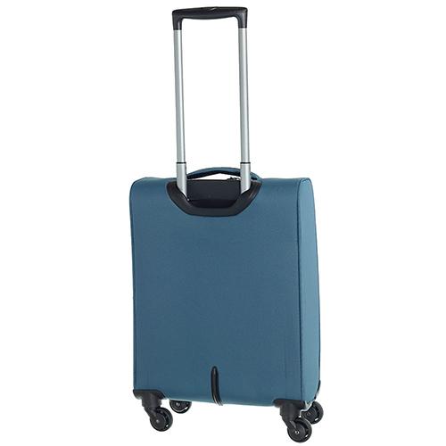 Голубой маленький чемодан 55х35х20см March Flybird с 4х колесной системой, фото