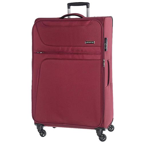 Набор чемоданов March Focus в бордовом цвете, фото