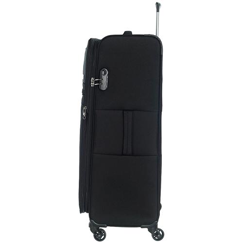 Набор чемоданов March Focus с корпусом черного цвета, фото
