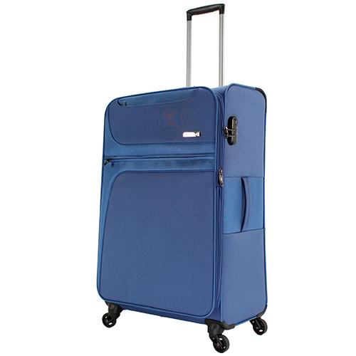 Набор чемоданов синего цвета March Focus для путешествий, фото