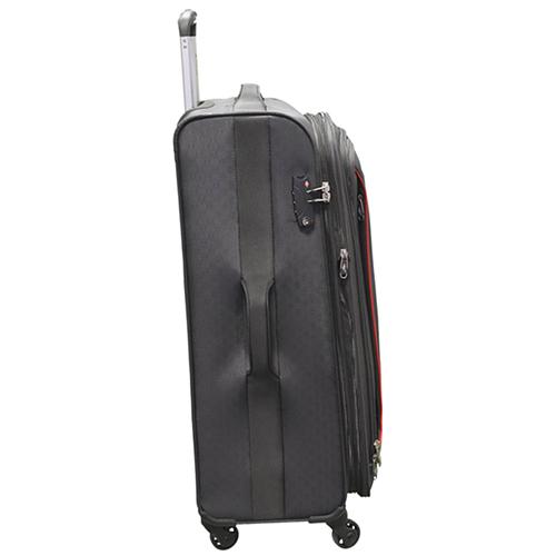 Серый чемодан большого размера 78х47х29см March Delta с 4х колесной системой, фото