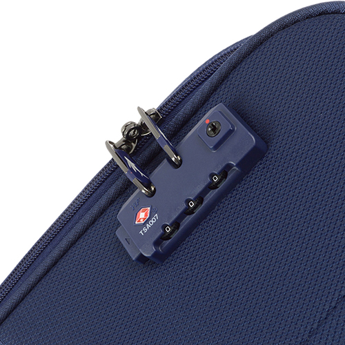 Набор чемоданов синего цвета March Lite для путешествий, фото