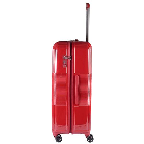 Красный чемодан 77х29х54см March Avenue большого размера с 4х колесной системой, фото