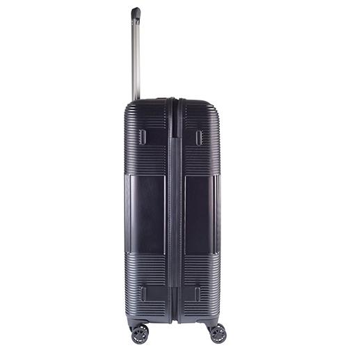 Черный большой чемодан 77х29х54см March Avenue с замком блокировки TSA, фото