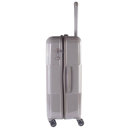 Бежевый чемодан 77х29х54см March Avenue большого размера на молнии, фото