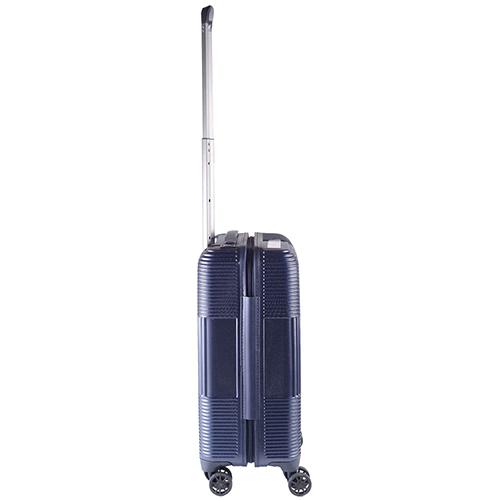 Синий чемодан 55х35х21,5см March Avenue маленького размера на молнии, фото