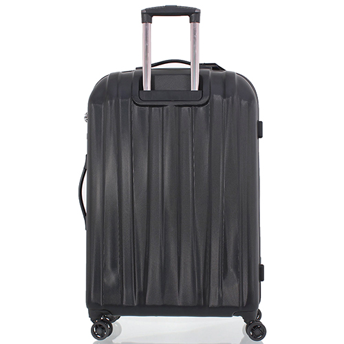 Черный чемодан среднего размера 68x45x23см March Rocky с 4х колесной системой, фото