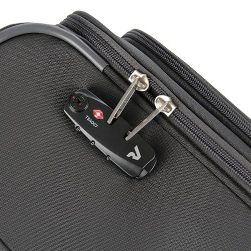 Чемодан размера ручной клади 55х40х20см Roncato Roma с кодовым замком TSA, фото