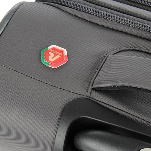 Маленький дорожный чемодан 55х40х20см Roncato Roma с замком блокировки TSA, фото