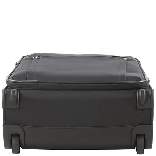 Маленький черный чемодан 55х40х20см Roncato Zero Gravity с 2х колесной системой, фото