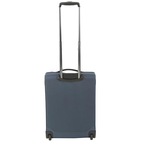 Чемодан маленького размера 55х40х20см Roncato Zero Gravity с корпусом синего цвета, фото