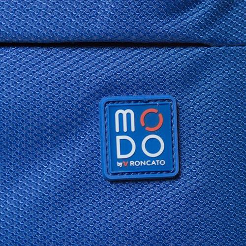 Чемодан синего цвета 73х46х30см Modo by Roncato Cloud Young большого размера на молнии, фото