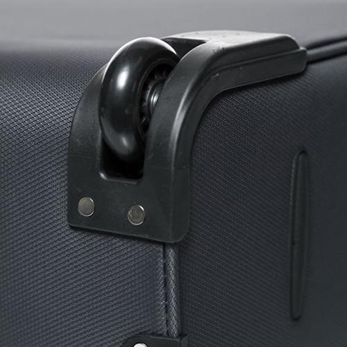 Большой чемодан 73х46х30см Modo by Roncato Cloud Young антрацитового цвета на молнии, фото