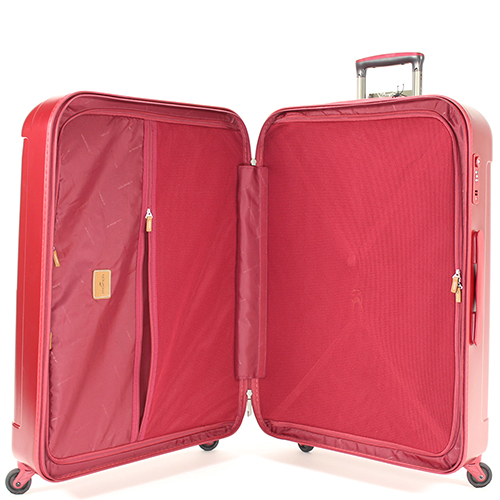Большой красный чемодан 77х54х30см March Cosmopolitan на молнии для путешествий, фото
