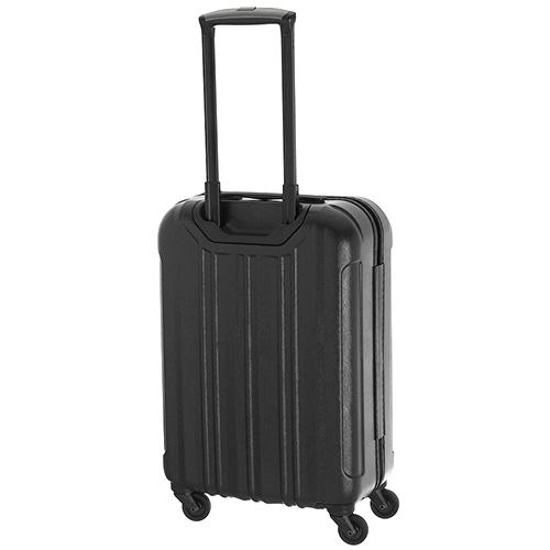 Чемодан маленького размера 55х37х20см March Cosmopolitan с корпусом черного цвета, фото