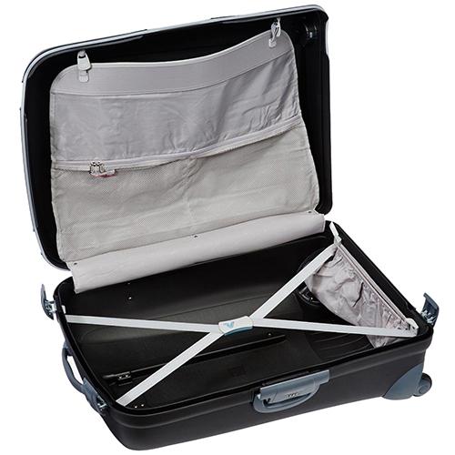 Черный чемодан 75х53х30см Roncato Light большого размера с кодовым замком TSA, фото