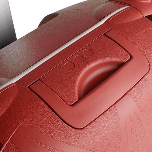 Большой красный чемодан 75х53х30см Roncato Light с кодовой блокировкой TSA, фото