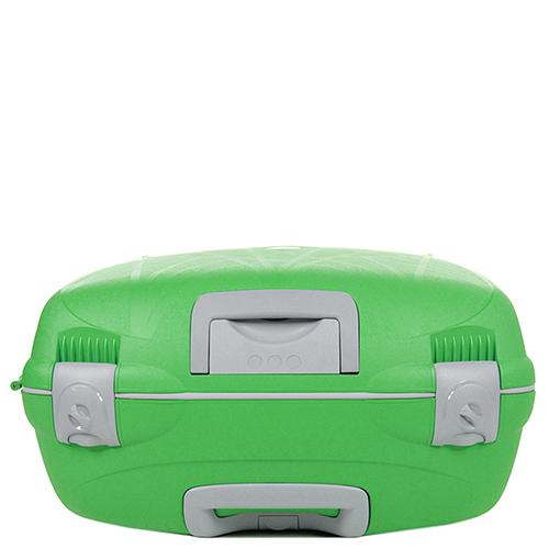 Большой чемодан зеленого цвета 75х53х30см Roncato Light с 4х колесной системой, фото