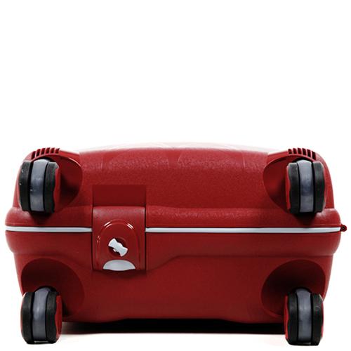 Чемодан красного цвета 55х40х20см Roncato Light размера ручной клади, фото