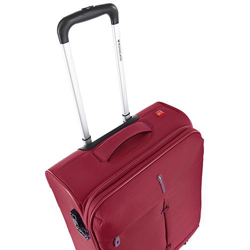 Большой красный чемодан 78х48х29-32см Roncato Ironik с замком TSA, фото
