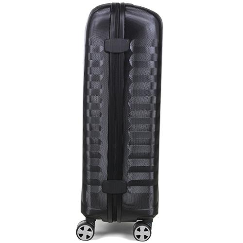 Большой чемодан 76х47х26см Roncato Uno ZSL Premium в черном цвете, фото