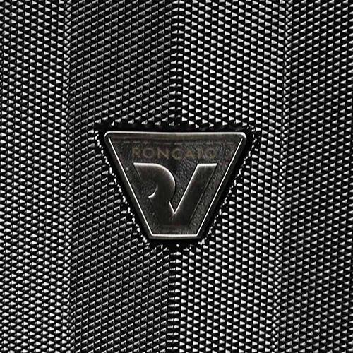 Черный большой чемодан 82x48x30-32см Roncato Uno ZSL Premium из поликарбоната, фото