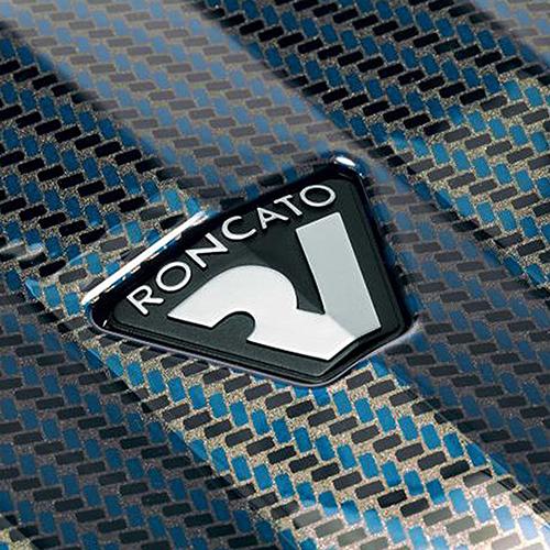 Чемодан большого размера 78х50х30см Roncato Uno ZSL Premium с корпусом синего цвета, фото