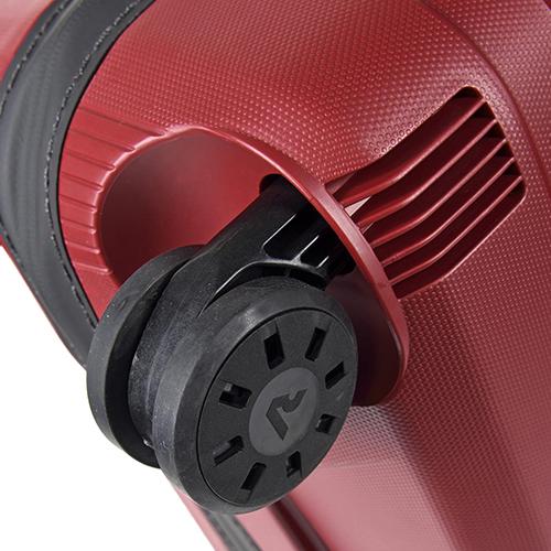 Чемоданы Roncato Box с красным корпусом из полипропилена, фото