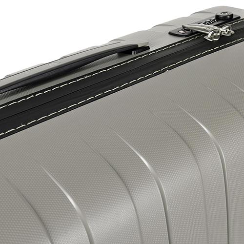 Чемодан бежевого цвета 69x46x26см Roncato Box с корпусом из полипропилена, фото