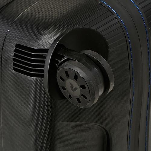 Набор чемоданов черного цвета Roncato Box с 4х колесной системой, фото
