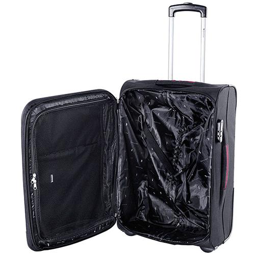Черный чемодан 63x41x27см Puccini Camerino среднего размера для путешествий, фото