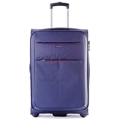 Среднего размера чемодан 63x41x27см Puccini Camerino в синем цвете, фото