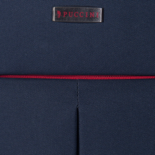 Чемодан маленького размера 52х36х20см Puccini Latina в синемцвете, фото