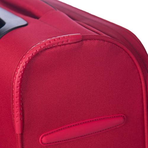 Чемодан большого размера 71х45х30-35см Puccini Latina с корпусом красного цвета, фото