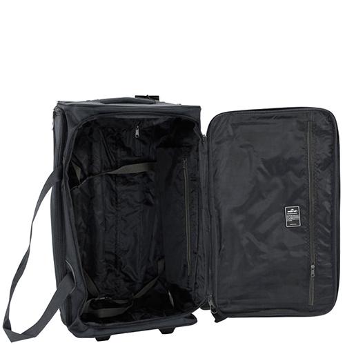 Набор чемоданов черного цвета March Gogobag из нейлона на 2х колесах, фото