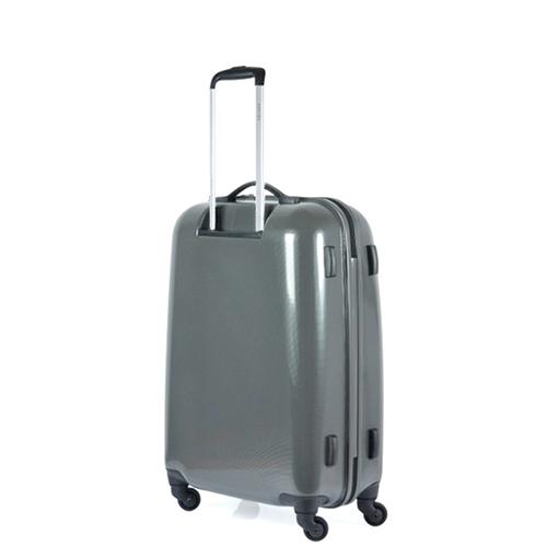 Чемодан цвета антрацит 68x44x26см Puccini PC005 среднего размера для путешествий, фото