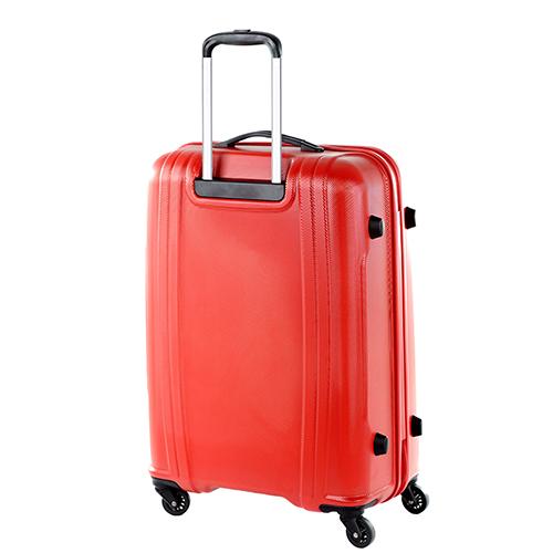 Красный чемодан 70x50x28см Puccini PC015 среднего размера на молнии, фото