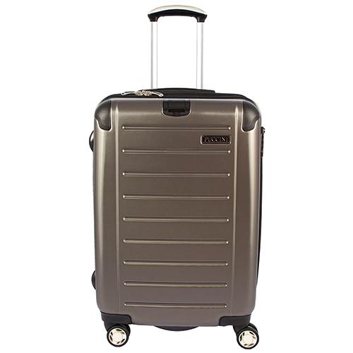 Большой чемодан цвета антрацит 79x53x33см Puccini PC016 для путешествий, фото