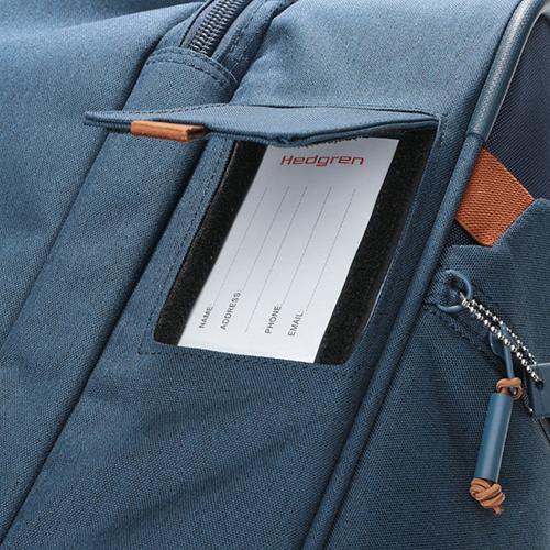 Чемодан среднего размера 66x26x38см Hedgren Escapade с корпусом синего цвета, фото