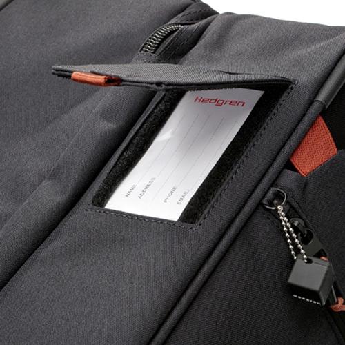 Серый чемодан среднего размера 66x26x38см Hedgren Escapade для путешествий, фото