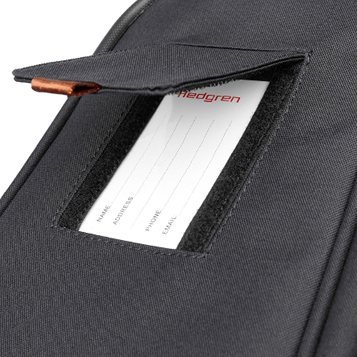 Чемодан серого цвета 55х25х37см Hedgren Escapade размера ручной клади, фото